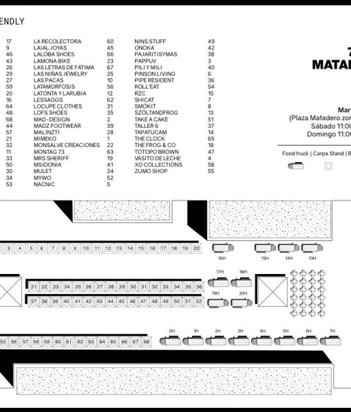 Plano Mercado de diseño Mayo 2016